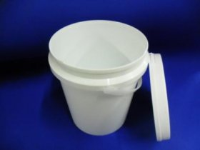1 ltr plastic bucket with lid