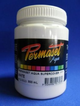 Permaset Aqua Super Cover White